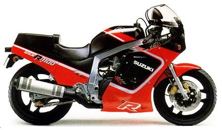 1986-1988 GSXR-1100